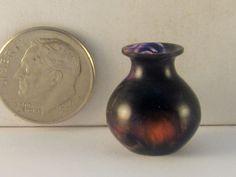 Brian Hart, Hartwood Turning - purple magic acrylic vase