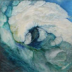 "Saatchi Art Artist Lia Melia; Painting, ""A Patch of Blue"" #art"