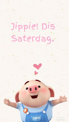 Pig Wallpaper, Cute Piglets, Goeie Nag, Goeie More, Afrikaans Quotes, God Prayer, Little Pigs, Mom And Dad, Good Morning
