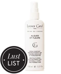 The Only Curl Spray You Need This Summer #refinery29  http://www.refinery29.com/leonor-greyl-curl-spray