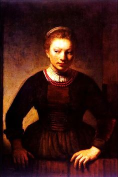 Rembrandt. We had this one too. No wonder I have a special place in my heart for the Dutch Masters!