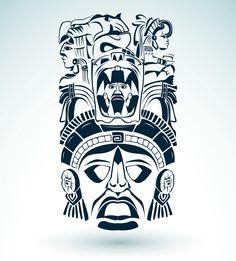 aztec-jaguar-warrior-tattoo.jpg (2124×2353)