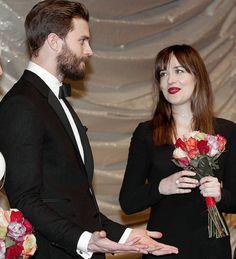 "50shades:"" Have you met him!. He's the Best."" Dakota… | Jamie Dornan News"