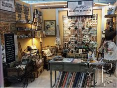 Tim Holtz quiltbooth...love it!