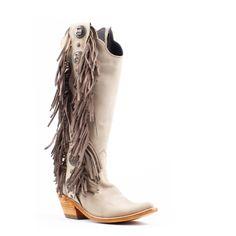 8330214b6 Women's Liberty Black Res Nobuck Fringe Boots Ostra #LB-712953-P – Allens