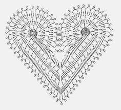 Heart Dress ~ PATTERNS CROCHET TOP