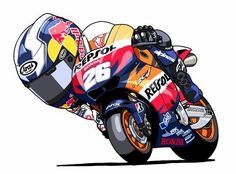 61 Best Cartoon Motorsports Images On Pinterest Bicycle Art Bike