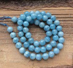 Для украшений ручной работы. Ярмарка Мастеров - ручная работа. Купить Аквамарин 7 мм натуральный шар гладкие бусины камни для украшений. Handmade.