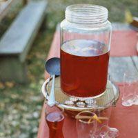 Spiced pomegranite and apple cider - sounds fantastic!