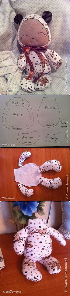 DIY This little doll by the photo. - There are more patterns at the site. If you want all the information, you need to login. I did not. Scops Owl