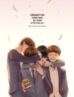 Congrats EXO :)