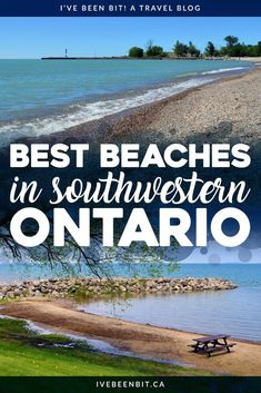 Summer and beaches go hand-in-hand! Luckily Ontario, Canada has plenty of amazing sandy destinations. You have to check out these FREE beaches in Southwestern Ontario. They're the best beaches in Southern Ontario! Travel in Ontario. Beaches in Ontario. Free Beach, Beach Fun, Beach Trip, Beach Travel, Travel Kids, Usa Travel, Alberta Canada, Canada Ontario, Places To Travel