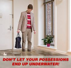 #WaterLeakRepair What happens if a water heater fails when nobody is home, or if a leak goes undetected at your property for several days – or even months?