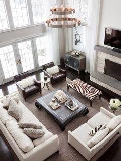neutral living space-South Shore Decorating Blog: 50 Favorites for Friday #151