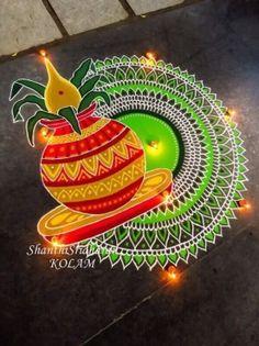 15 Best Rangoli Designs Ideas photos by bondita | HappyShappy Easy Rangoli Designs Diwali, Rangoli Simple, Indian Rangoli Designs, Rangoli Designs Latest, Simple Rangoli Designs Images, Rangoli Designs Flower, Free Hand Rangoli Design, Rangoli Border Designs, Rangoli Ideas