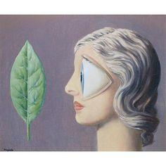 RENE MAGRITTE 1958 De vrouw van de bouwvakker / La femme du macon,