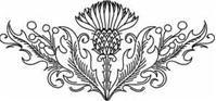 thistle design for embroidery @ Af 1/1/13