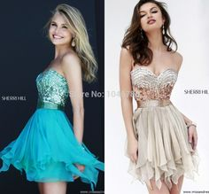 Find More Prom Dresses Information about Princess 2015 New Perfect High Quality Sweetheart Sleeveless Beaded Sequined Draped Back Zipper Mini Short Prom Dress 2014,High Quality Prom Dresses from Timeless Love-SFN on Aliexpress.com