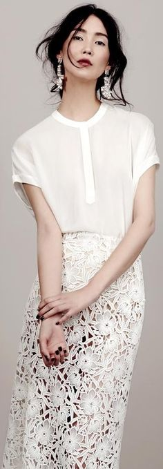 Kaviar Gauche Wedding Dress 2015 - - if there were a luxurious lining underneath… Sheer perfection