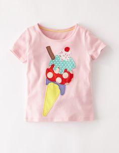 Big Appliqué T-shirt 31753 T-shirts at Boden