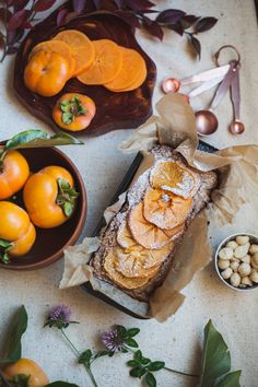 Filled with buttery macadamia and aromatic vanilla, this persimmon cake is subtly sweet and great with a warm cup of coffee or tea at any time of day. Get the recipe from Will Frolic for Food.   - Delish.com