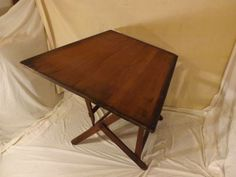 Antique all wood drafting table $200