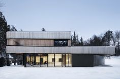 Gallery of Maison sur le Lac / ACDF Architecture - 12