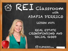 In the classroom today, AdaPia d'Errico explains the social good that impact investing creates.