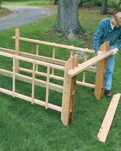 Build a Sturdy Arbor | Fine Gardening