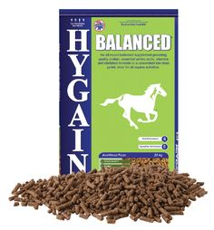 HYGAIN BALANCED is a low dose, all-round concentrate feed that provides high levels of Vitamin E and Selenium for cell health, Biotin for hoof and coat health, Chelated Minerals, quality protein and essential amino acids for muscle development. This balancer is extremely versatile in its use and is ideal for good doers, horses on a pasture only diet or as an addition to horses receiving a home mixed diet. Economical in its use, you generally get 40 feeds out of one bag, at 500g per day.