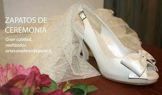 #Zapatos de #ceremonia. zapatoselda.com Brand Name Shoes, Over Knee Socks, Elegant, Women