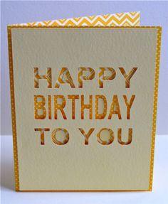 Happy Birthday To You Card by Kim Frantz