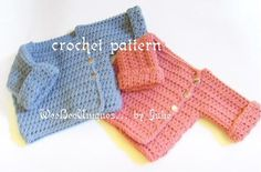 crochet pattern digital download babies to by WeeBeeUniquesByJulie