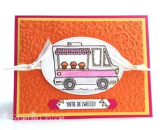 Tasty Truck stamp set, Stampin Up, 2017 Sale-A-Bration
