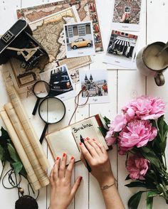 from that time when we went on a trip with Lalalab Flat Lay Photography, Book Photography, Travel Flatlay, Foto Canon, Book Cupcakes, Travel Wallpaper, Travel Maps, Travel Aesthetic, Cool Diy Projects