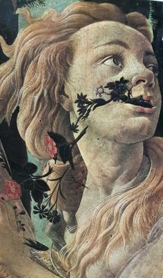 Allegory of Spring, Botticelli (detail) Giorgio Vasari, Italian Painters, Italian Artist, Michelangelo, Rennaissance Art, Religious Paintings, Renaissance Paintings, Painting People, Painting Wallpaper