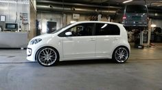 With rims; Vw Up, City Car, Cars And Motorcycles, Cool Cars, Volkswagen, Vehicles, Stage, Golf, Fast And Furious