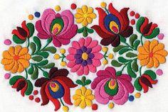 Embroidery On Kurtis, Kurti Embroidery Design, Mexican Embroidery, Hungarian Embroidery, Embroidery Dress, Embroidery Applique, Embroidery Stitches, Embroidery Patterns, Newspaper Art