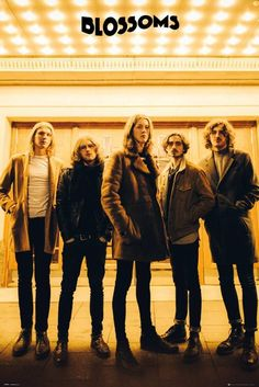 Blossoms Band Maxi Poster