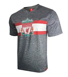 Liverpool F.C. Soccer Official Adult Soccer Training Performance Poly  Jersey -J010 Medium Soccer Training f9166e803