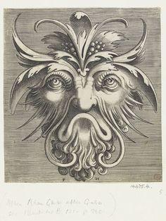 Pourtraicture ingenieuse de plusieurs facons de Masques  Object: Print  Place of origin: Antwerp, Belgium (published)  Date: 1555 (published)  Artist/Maker: Huys, born 1517 - died 1562 (engraver)  Hans Liefrinck, born 1517 - died 1573 (published)  Floris, Cornelis (II), born 1508 - died 1575 (after, artist)