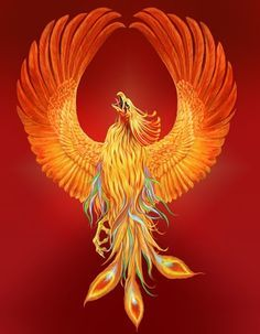 Like the Phoenix the old me has burned up and the new me has been raised from the ashes thanks to Christ