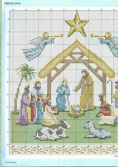 ♥Meus Gráficos De Ponto Cruz♥: Natal                                                                                                                                                      Mais