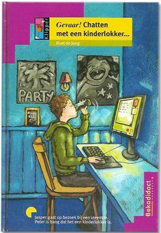 Gevaar! Chatten met een kinderlokker | Roel de Jong Voor 10+ Jasper chat veel op het Internet. Hij maakt een afspraak met een vreemde. Een vrouw die ...
