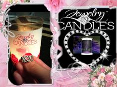 Jewelry in candles!   Get your own today!  www.jewelryincandles.com/store/bettyjofranke
