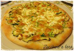 Pizza zucchine e Feta di Sarah