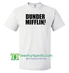 Dunder Mifflin Inc T shirt gift tees adult unisex custom clothing Size S-3XL