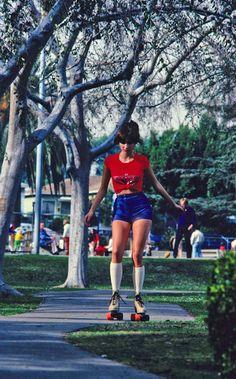 roller skating 1970s