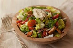 Fatoush Salad | via What's Gaby Cooking
