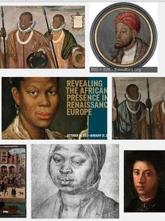 """The entire book for the exhibit """"Revealing the African Presence in Renaissance Europe"""" is  available for free download or for reading online! Many great images along with a scholarly text."""